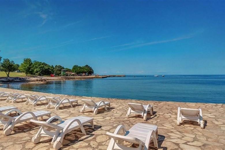 Strande Istrien Karte.Strande In Umag Plava Laguna